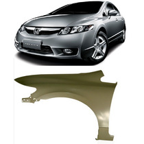 Paralama New Civic 2007 2008 2009 2010 2011 Esquerdo Novo