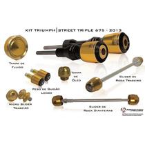 Kit Slider Procton Triumph Street Triple 675 - Completo