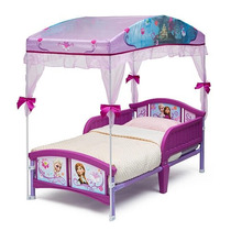 Mini Cama Frozen Disney Com Dossel
