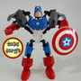 Capitão América -lego Super Heroes Marvel Com 23 Cm-raridade