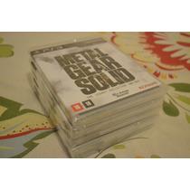 Metal Gear Solid The Legacy Collection - Lacrado - Ps3