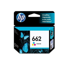 Cartucho Hp 662 Color Novo Original Lacrado