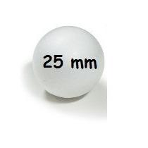 Bola De Isopor 25 Mm ( Maciça ) 100 Un