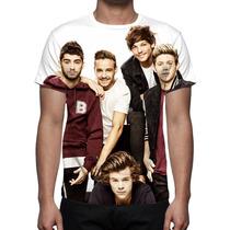 Camisa, Camiseta One Direction - Estampa Total