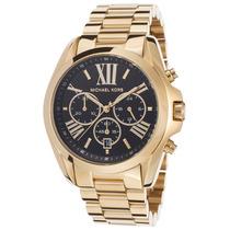 Relógio Michael Kors Mk5739 Dourado E Preto Frete Grátis