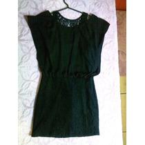 Vestido De Festa Curto Com Renda Preto - Maravilhoso!