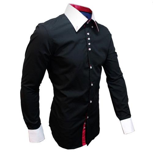 Camisa 65% Poliester 35% Algodão Esporte Fino