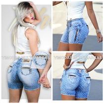 Shorts Rhero Jeans Estilo Pit Bull Jeans Levanta Bumbum !!!