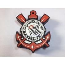 Pen Drive 8gb Personalizado Corinthians - Emborrachado