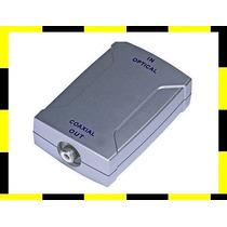 Adaptador De Áudio Óptico Para Coaxial Digital Conversor