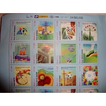 Selos Copa Do Mundo Brasil 2014 - 24 Selos - Novo
