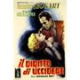 Humphrey Bogart Gloria Grahame Itália Filme Poster Repro