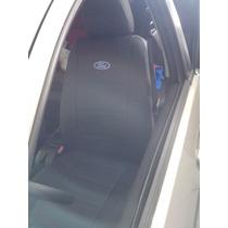 R7 Capa De Banco De Couro Ford New Fiesta B. Inteiro 2014/15