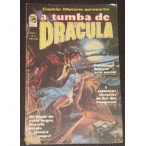 Capitão Mistério - A Tumba De Drácula Nº 7 - Bloch - 1977
