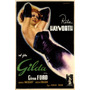 Rita Hayworth Gilda 1947 Itália Filme Poster Repro