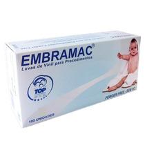 Luva Vinil Embramac Pp-extra Pequena C/100