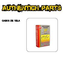 Jogo De Cabos Vela Ngk Renault Logan 1.6 8v Flex 07 Em Diant