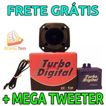 Simulador Turbo Digital Eletrônico Pixtar + Mega Tweeter