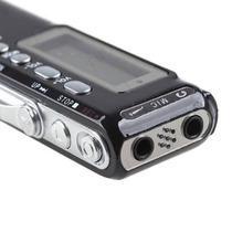 Gravador De Voz Digital Espião 8gb Escuta Telefônica E Mp3