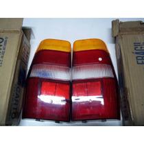 Lentes Lanterna Traseira Fiat Elba 85/96 Novas Mcarto