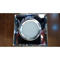 Spot Super Led 3w Branco Frio Quadrado Espelhado Completo