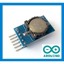 Time Shield Pinos Soldados Exemplo Rtc Hora Data Arduino