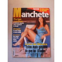 Revista Manchete - Luma De Oliveira,eliana,roberta Close 99