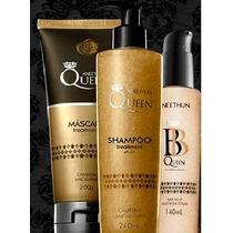 Kit Aneethun Queen - Shampoo Máscara E Bb Queen