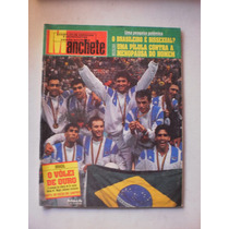Revista Manchete - Vôlei De Ouro - 15 De Agosto De 1992