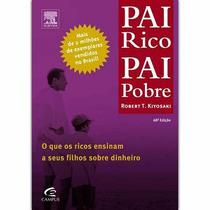 Livro E-book Pai Rico Pai Pobre