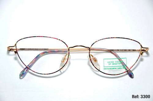 b4fa92150 Armação Para Óculos Feminino De Grau - Benetton - Ref: 3300