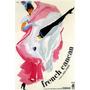 Dança Francesa Cancan Bailarina Itália Filme Poster Repro