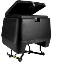 Baú Moto Boy Frete 80 Litros Pro Tork + Suporte Baú + Brinde