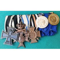 Medalha Alemanha Bavária 1ª Guerra Cruz Ferro Mérito Luftwaf