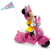 Minnie Com Scooter - Controle Remoto - Long Jump