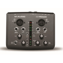 Interface De Audio 2 Canais Usb M-track M-audio