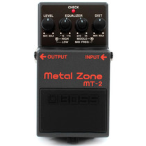 Boss Mt-2 Metal Zone - Pedal De Distorção + Garantia 1 Ano