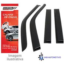 _defletor Calha De Chuva Saveiro E Fiat 147 2p 87/94 Marçon