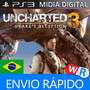 Uncharted 3 Ps3 Play3 Dublado Portugues Portugal