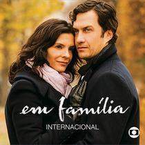 Cd Novela Em Família Internacional (2014) * Lacrado Raridade