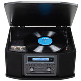 Toca Disco Teac Gf-550usb Lp/k7/fm - Grav Cd/usb Retro