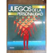 Livro Juegos De La Personalidad - Pino Gilioli 1985