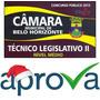 Técnico Legislativo Ii - Belo Horizonte / Mg - Aprova