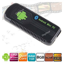 Mini Pc Dual Core Android 4.2 Wifi Bluetooth Google Tv Box