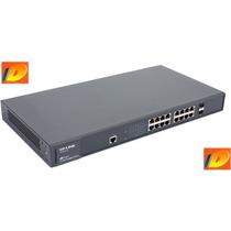Tp-link Tl-sg3216 16 Portas Gigabit - Switch Gerenciável