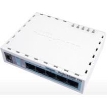 Routerboard Mikrotik Rb750 32mb Ram 5 Portas Licença Level 4