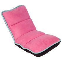 Cadeira Reclinável De Chão Infantil Rosa E Azul Fullway