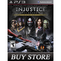 Injustice Gods Among Us - Ps3 - Dublado - Buy Store!