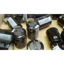 Cap. Eletro. 470uf/63v 105 Graus Cortado Rubicon Kit C/10pç