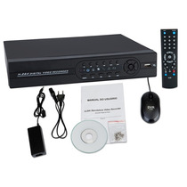 Dvr Stand Alone Cftv 4 Canais H264 Tempo Real 120fps